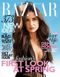 Demi Moore Spills on Relationships and Body Image in Harper's BAZAAR