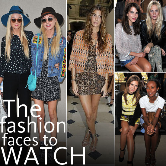 The New It Girls to Style Stalk in 2012: Dasha Zhukova, Shala Monroque, Poppy Delevingne, Caroline Sieber,