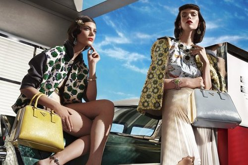 Prada Spring 2012 Accessories — Prada Pyramide Bag
