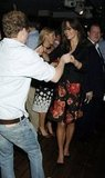 Kate Middleton danced with Prince William's best friend, Guy Pelly, at a pre-Wimbledon party in June 2006.