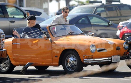 Joshua and Diane Travel in Style in Their Vintage Convertible
