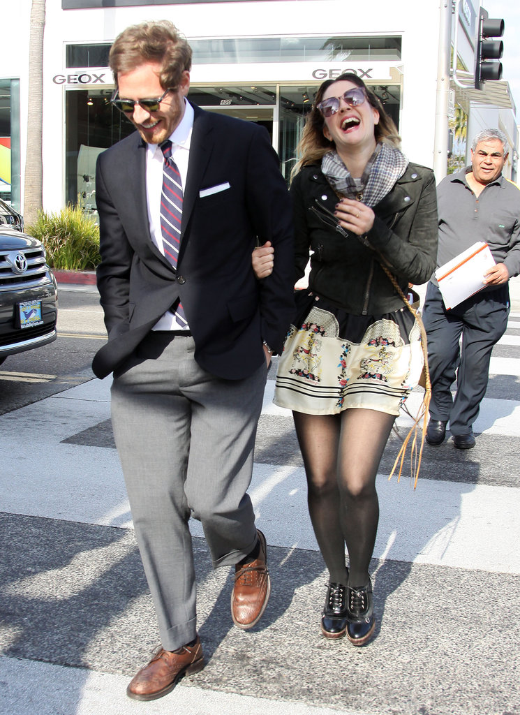 In February 2011, Drew Barrymore and Will Kopelman laughed and lunched in LA.
