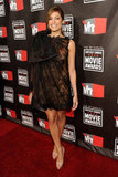Eva Mendes looked lovely in a Valentino Couture frock in 2011.