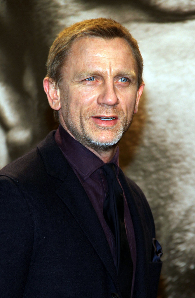 Daniel Craig at the premiere of The Girl With the Dragon Tattoo in Berlin.