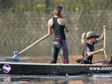Kate Middleton and her friend Emma Sayle trained for a rowing challenge in London during August 2007.