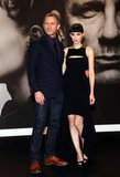 Daniel Craig and Rooney Mara posing together at the premiere of The Girl With the Dragon Tattoo in Berlin.
