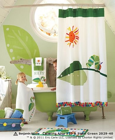 The Very Hungry Caterpillar Kids Bathroom