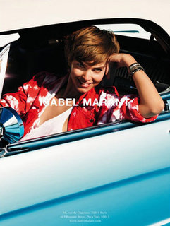 Arizona Muse Debuts A Pixie Cut in Isabel Marant's Spring 2012 Campaign