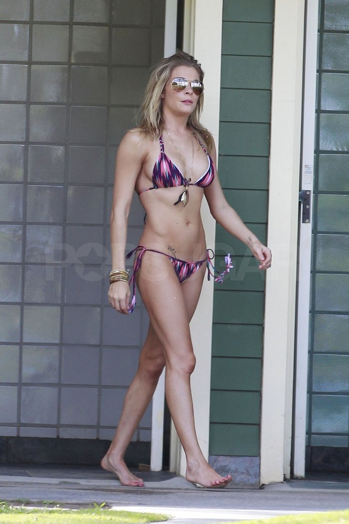 LeAnn vacationed in Hawaii with her husband, Eddie Cibrian.