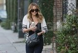 Lauren Conrad wore her hair in long curls in LA.