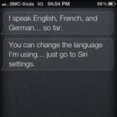 iPhone's Siri Learning Chinese