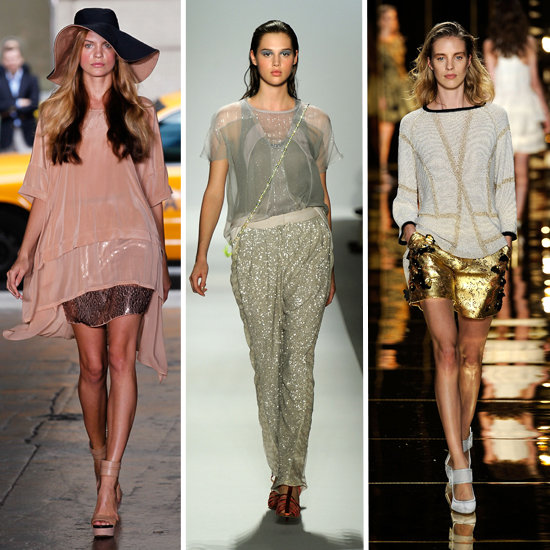 Spring 2012 Trend: Metallic Mixing