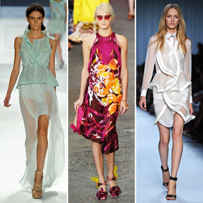 Best Spring 2012 Runway Trends