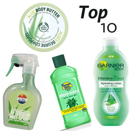 10 of the Best: Aloe-Based Beauty Buys to Soothe Your Skin