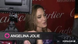 Angelina Jolie Talking About Zahara at the Palm Springs Film Festival