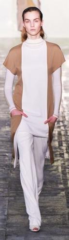 Richard Nicoll London Fashion Week fashion show catwalk report fall 2011