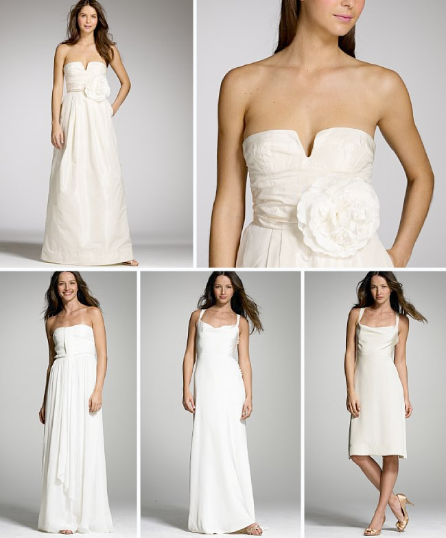 Romantic casual wedding dresses