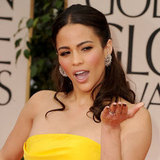 Pictures of Celebrity Nails and Manicures at the 2012 Golden Globe Awards Red Carpet