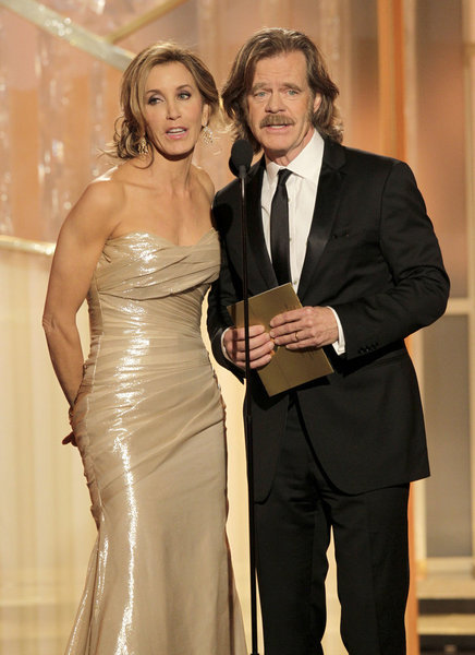 William H. Macy and Felicity Huffman's Duet