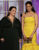 Melissa McCarthy and Paula Patton