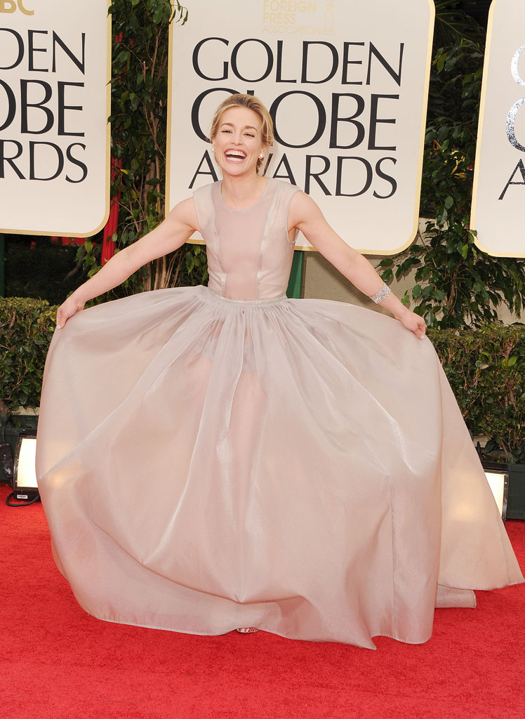 Piper Perabo at the Golden Globes.