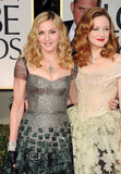 Madonna and Andrea Riseborough hit the red carpet together.