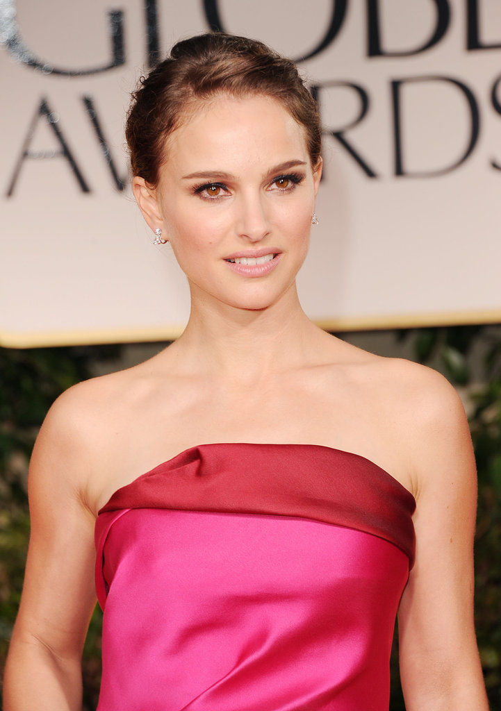 Natalie Portman was lovely in Lanvin.