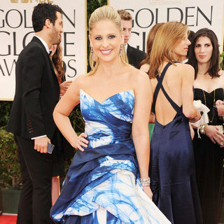 Sarah Michelle Gellar Pictures at Golden Globes 2012