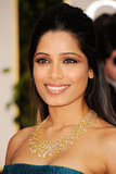 Freida Pinto on the red carpet.