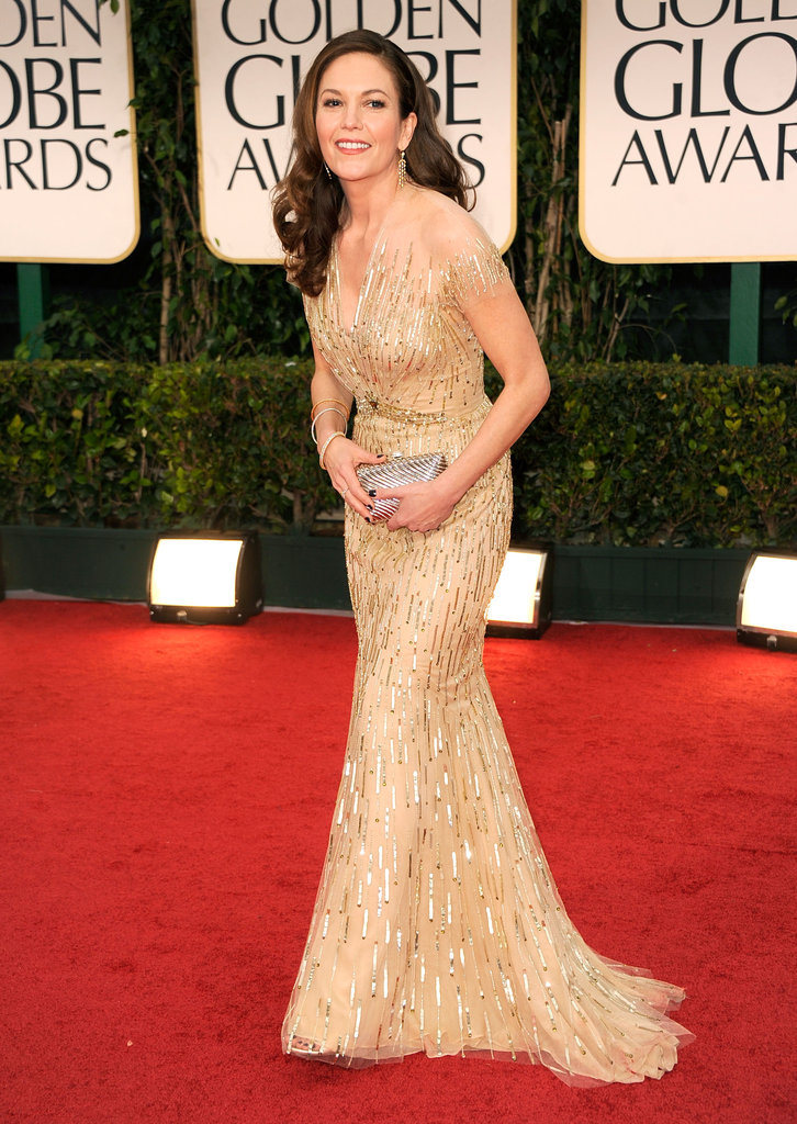 Diane Lane at the Golden Globes.