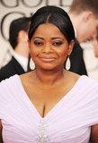 Octavia Spencer at the Golden Globes.