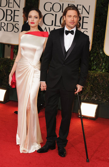 Brad and Angelina Bring Their Sexy Glamour to the Globes Red Carpet