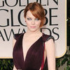 Emma Stone Lanvin Dress Pictures at 2012 Golden Globes