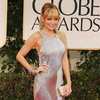 Nicole Richie Silver Julien Macdonald Dress Pictures at 2012 Golden Globes
