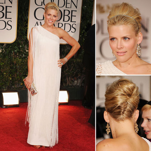 Busy Phillips Wears a Flapper Style Dress on the Red Carpet at the 2012 Golden Globes