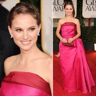 Natalie Portman at Golden Globes 2012