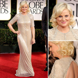 Amy Poehler at Golden Globes 2012