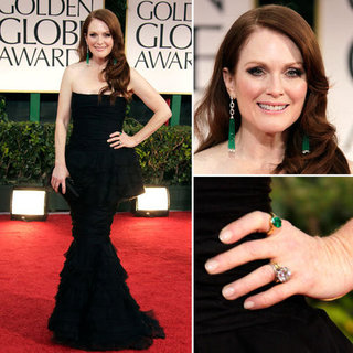 Julianne Moore at Golden Globes 2012