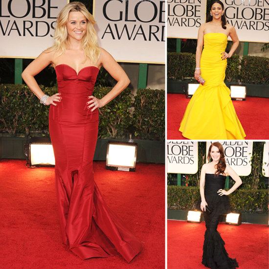 Golden Globes Trendspotting: Flirty Fishtail Hems