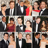 Golden Couples at the 2012 Globes!