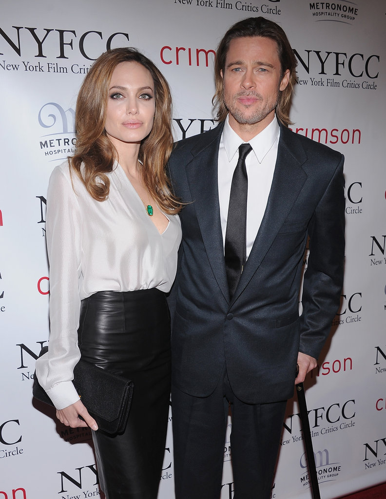 Brad Pitt and Angelina Jolie Take Their Awards Season Tour to New York