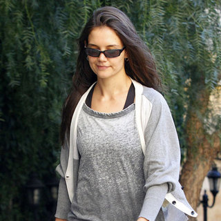 Katie Holmes Leaves an LA Dance Studio