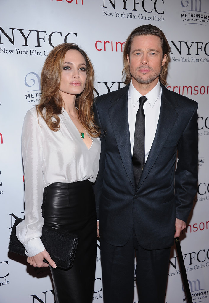 Brad Pitt and Angelina Jolie Take Their Award Season Tour to the East Coast