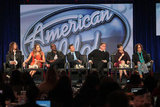 American Idol panel during the 2012 TCAs.