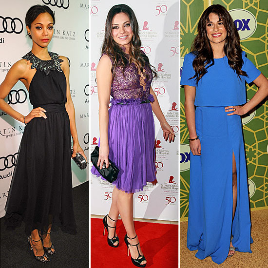 Celebrity Red Carpet Fashion January 2012