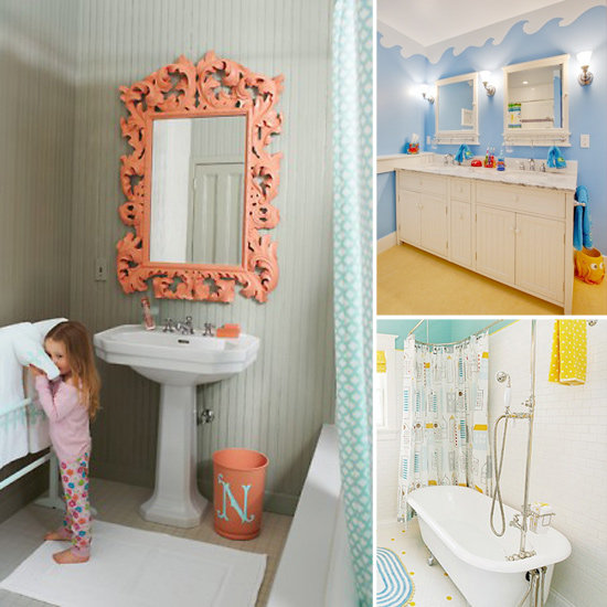 Kids bathroom decor ideas for Cute bathroom ideas