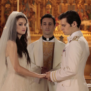 Gossip Girl Wedding Pictures of Blair