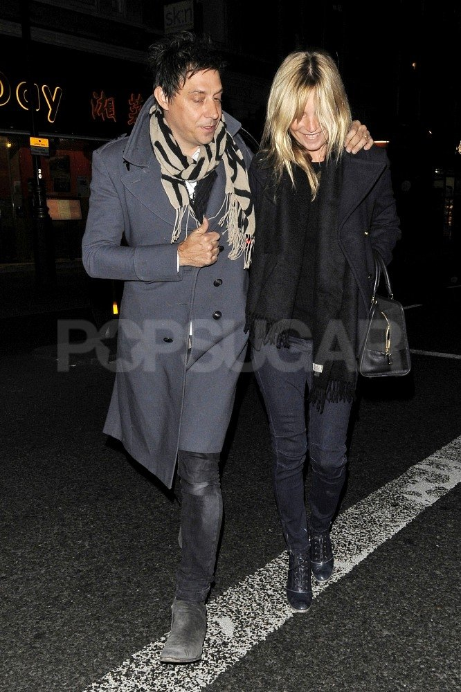 Kate Moss and Jamie Hince had a date night in London.
