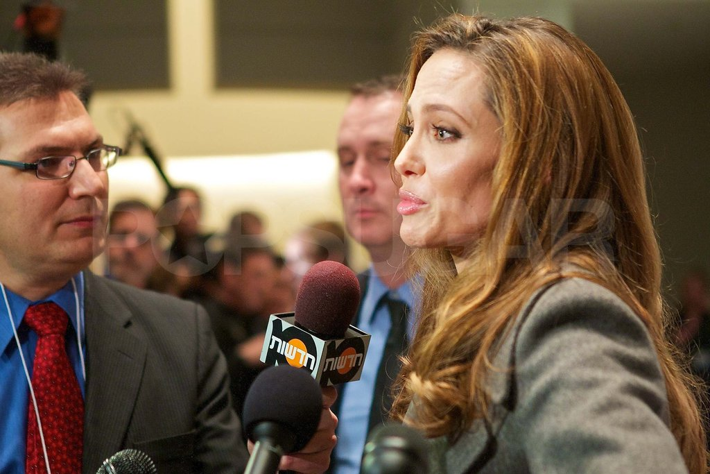Angelina Jolie and Brad Pitt Pop Up in DC For a Red-Carpet Premiere