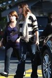 Jennifer Garner and pregnant Marla Sokoloff out in LA.